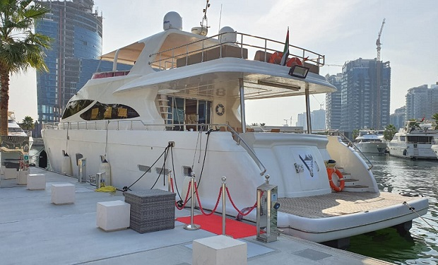 2, 3, 4, 5 or 6 Hours Cruise on Luxury 88 foot Yacht for up to 66 people from only AED 4,000.