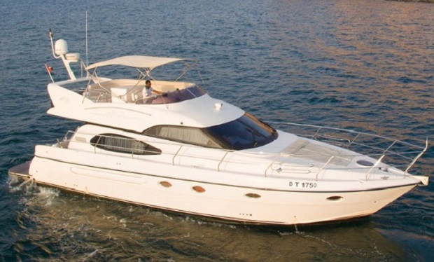 Charter a 50 foot Yacht for up to 20 people from only AED 549 per hour.