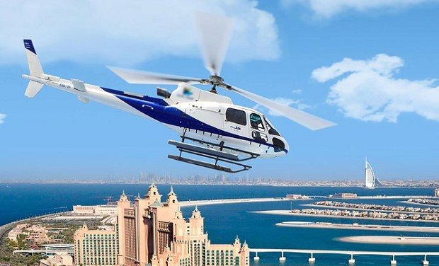 Dubai Helicopter Tours from only AED 646 per person.