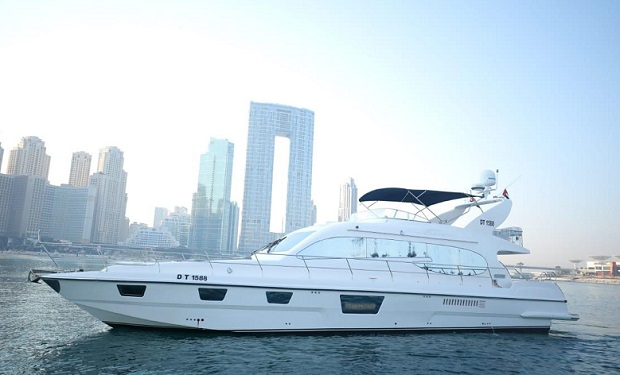 70 foot Yacht Rental for up to 30 people for only AED 749 per hour.