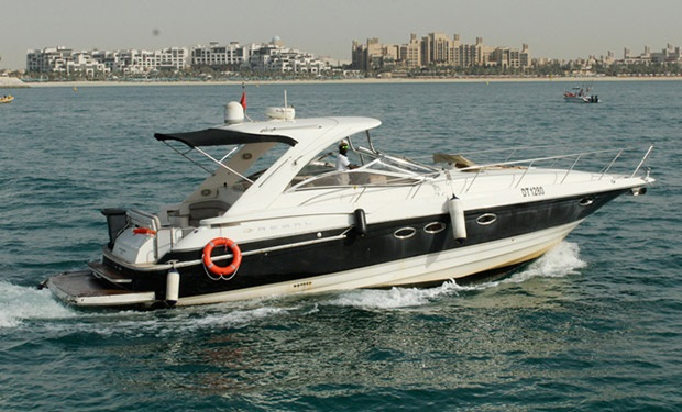 Yacht Rental for up to 16 people on a 48 foot boat from only AED 425 per hour.