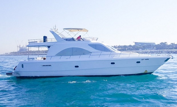 Private Cruise for up to 33 people on a 75 foot Yacht from only AED 1,199 per Hour.