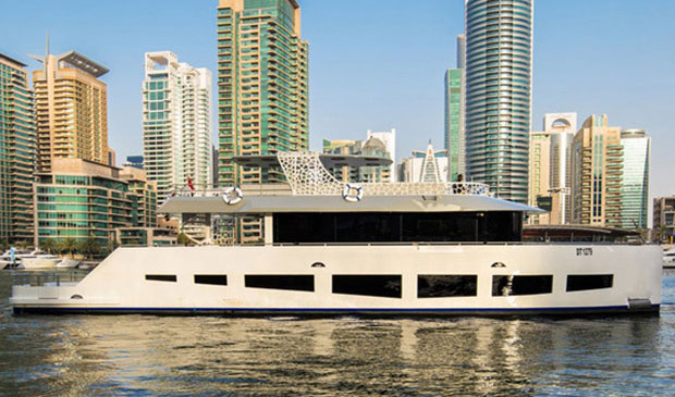 2, 3, 4, 5 or 8 Hours Cruise on Luxury 88 foot Yacht for up to 65 people from only AED 3,380.