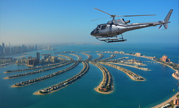 Helicopter Tours from only AED 646 per person. Enjoy the amazing aerial views of Dubai.