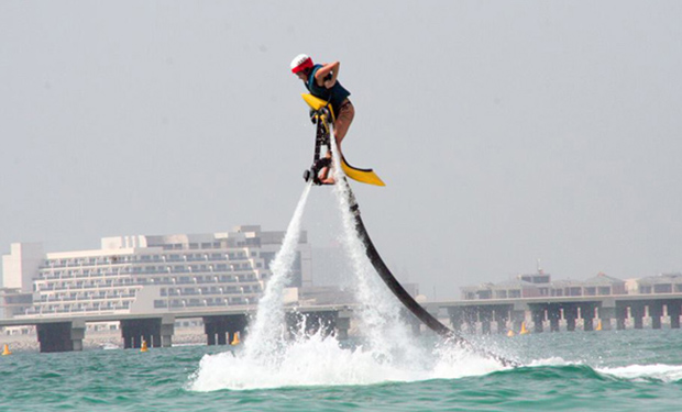 Jetovator Experience in Palm Jumeirah from only AED 199.