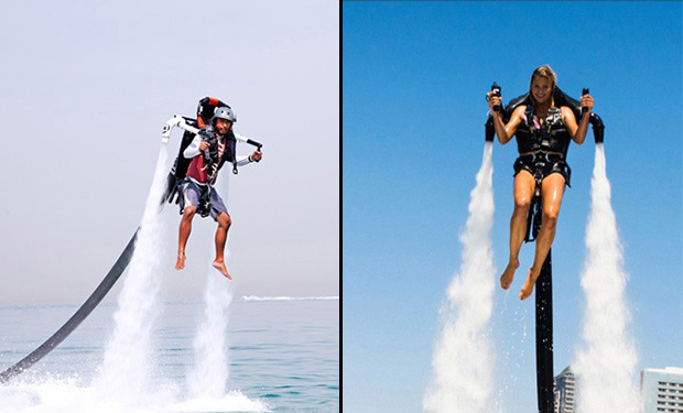 Rise above the water & enjoy a 20 or 30 minutes Jetpack Experience from only AED 199.
