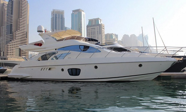 Abu Dhabi: 2, 3, 4 or 5 Hour Cruise on a luxury 55 foot Yacht for up to 15 people from only AED 1,499.