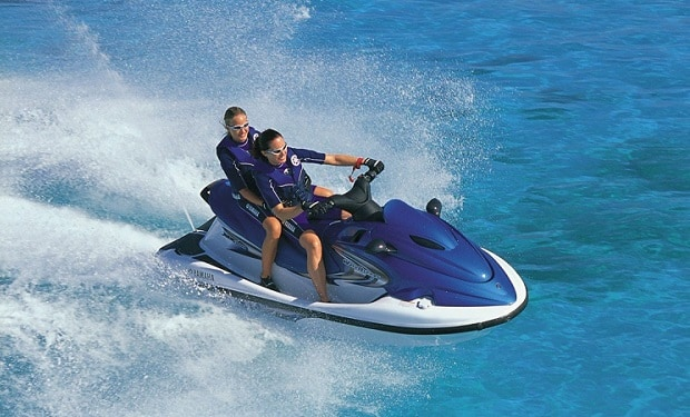 Jet Ski Rental: Enjoy a 20 or 30 minutes Ride from only AED 129. Location: Dubai Marina, Skydive Dubai.